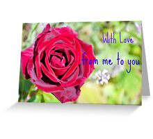 Happy Anniversary Monnie And Jack Greeting Card