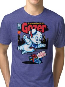 Gozer the Gullible God Tri-blend T-Shirt