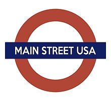 Main Street USA Line by itslizi
