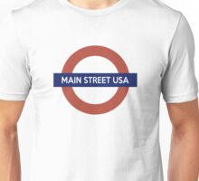 Main Street USA Line Unisex T-Shirt