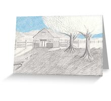 Colorado Barn Greeting Card