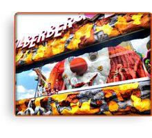 Prater Amusement Park in Vienna Canvas Print