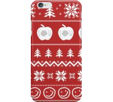 Sherlock Ugly Christmas Sweater iPhone Case/Skin