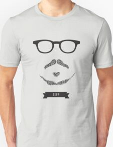 Beards with Glasses – Johnny Depp T-Shirt