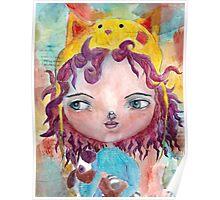 Inner Child - Lollipop Girl Poster