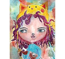 Inner Child - Lollipop Girl Photographic Print