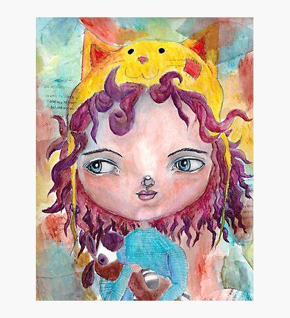 Inner Child - Lollipop Girl Photographic Print