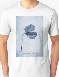 Sweet Pea Cyanotype T-Shirt