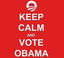 Keep Calm and Vote Obama 2012 Women's Shirt T-Shirt