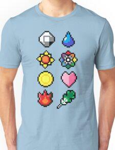 Indigo League Badges V.2 Unisex T-Shirt