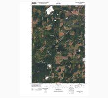 USGS Topo Map Washington State WA Nahwatzel Lake 20110418 TM Kids Tee