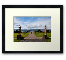 The view from Bantry House  Framed Print