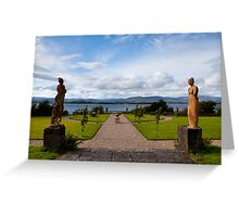 The view from Bantry House  Greeting Card