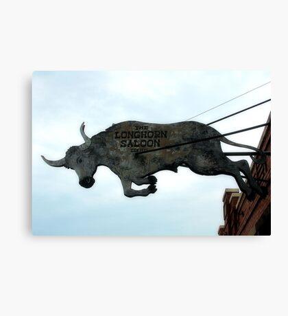 Long Horn Saloon Canvas Print