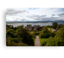 Bantry House and Bay Canvas Print