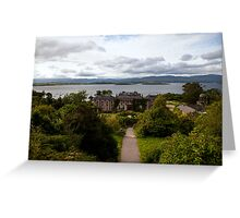 Bantry House and Bay Greeting Card