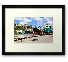 In Newquay Framed Print