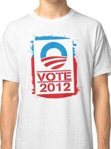 Vote Obama 2012 Women's T Shirt Classic T-Shirt