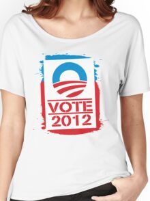 Vote Obama 2012 Women's T Shirt Women's Relaxed Fit T-Shirt