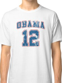 Retro Obama 2012 Women's Shirt Classic T-Shirt
