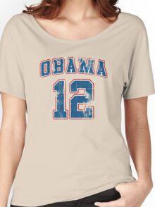 Retro Obama 2012 Women's Shirt Women's Relaxed Fit T-Shirt