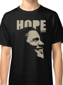 Obama Hope 2012 Women's Shirt Classic T-Shirt