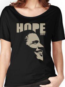 Obama Hope 2012 Women's Shirt Women's Relaxed Fit T-Shirt