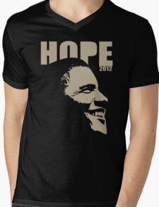 Obama Hope 2012 Women's Shirt Mens V-Neck T-Shirt