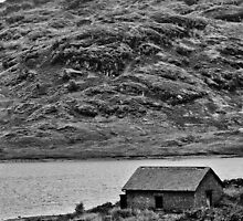 Loch Arklet Boathouse by Chris Thaxter