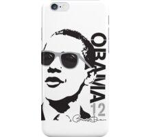 Obama 12 Shirt Shades iPhone Case/Skin