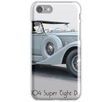 1934 Packard 1104 Super Eight Dual Cowl Phaeton w Title iPhone Case/Skin