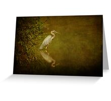 Afternoon on the Creek Greeting Card