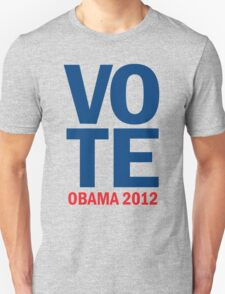 Vote Obama 2012 Women's Shirt Unisex T-Shirt