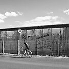 Riding along the wall by Manuel Gonçalves