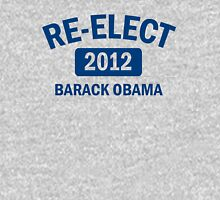 Re-Elect Obama 2012 Women's Shirt Womens Fitted T-Shirt