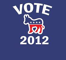 Vote Democrat 2012 T  Women's Shirt Womens Fitted T-Shirt