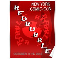Redbubble NYCC Contest Entry Poster