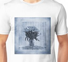 Watercolour Tulips in Blue Unisex T-Shirt