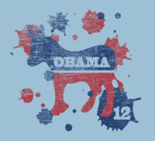 Obama 2012 Paint Shirt by ObamaShirt