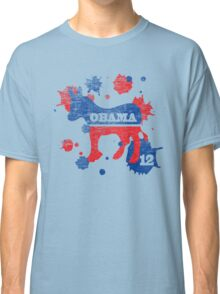 Obama 2012 Paint Shirt Classic T-Shirt