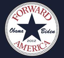 Obama Forward 2012 T Shirt Baby Tee