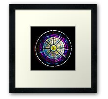 Stained Glass Done Framed Print