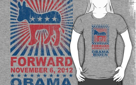 Obama Forward 2012 Women's Shirt by ObamaShirt