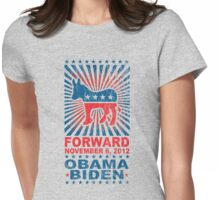 Obama Forward 2012 Women's Shirt Womens Fitted T-Shirt