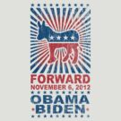 Obama Forward 2012 Shirt by ObamaShirt