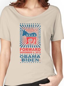 Obama Forward 2012 Shirt Women's Relaxed Fit T-Shirt