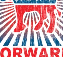 Obama Forward 2012 Shirt Sticker