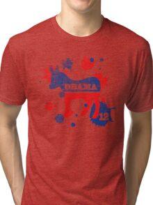 Obama 2012 Paint Women's Shirt Tri-blend T-Shirt