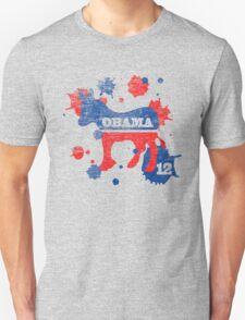 Obama 2012 Paint Women's Shirt Unisex T-Shirt