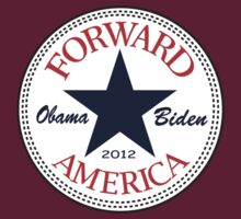 Obama Forward 2012 Women's T Shirt by ObamaShirt